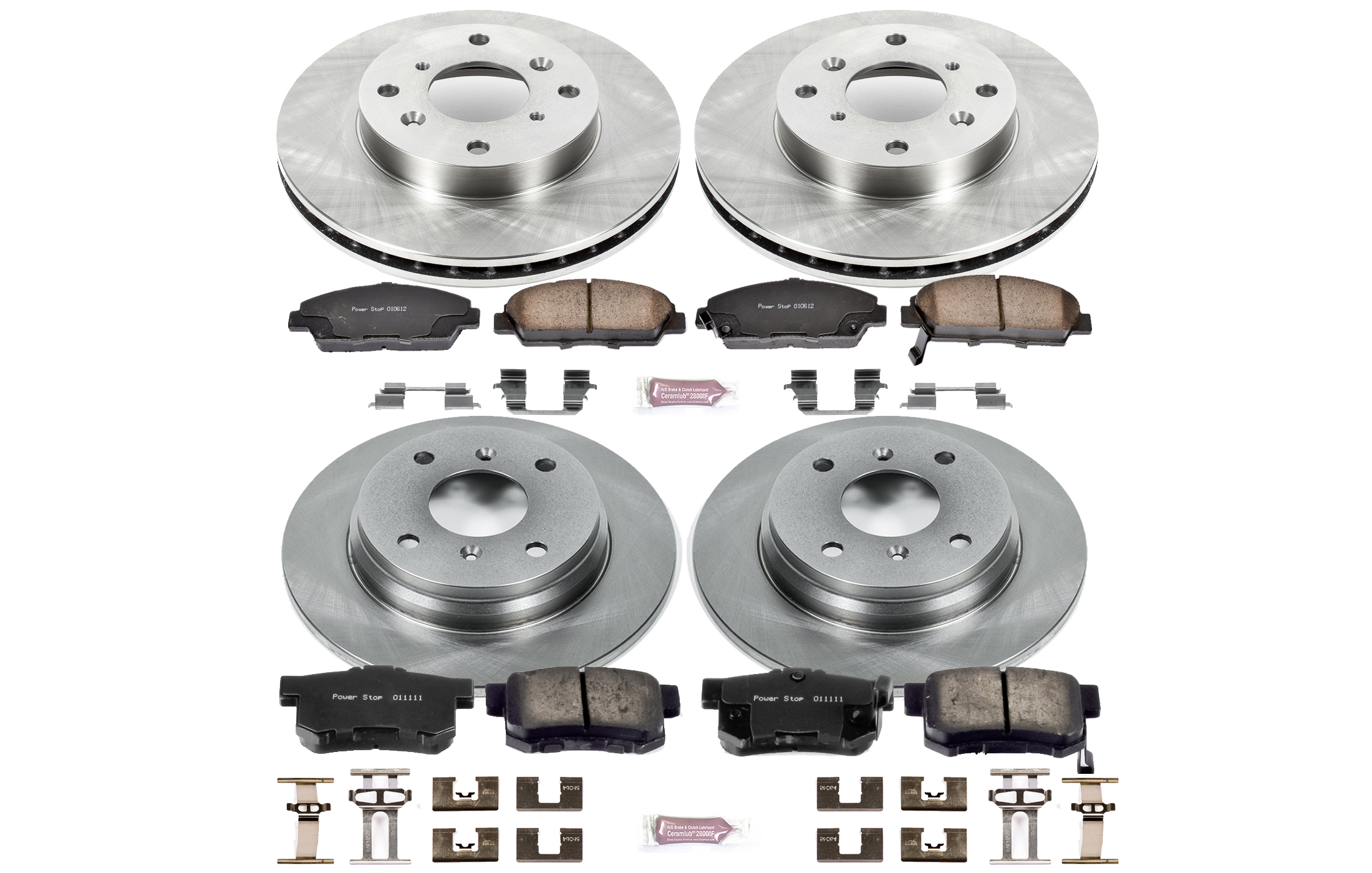 Autospecialty KOE849 1-Click OE Replacement Brake Kit Power Stop