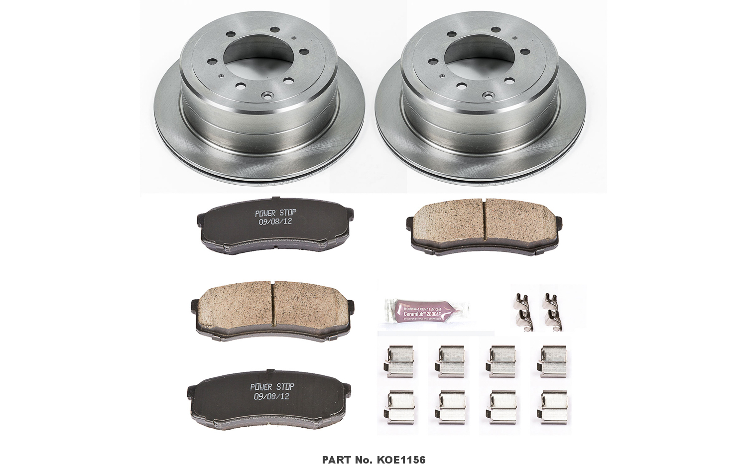 Autospecialty KOE116 1-Click OE Replacement Brake Kit