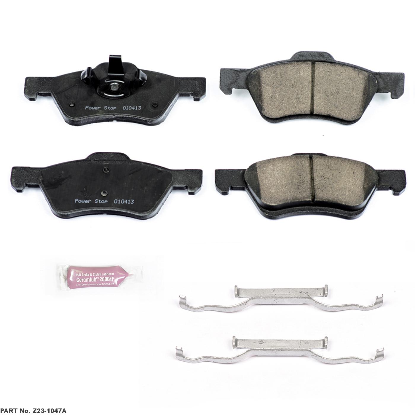 Z23 Evolution Sport Brake Pads Z23-1368 Power Stop Rear